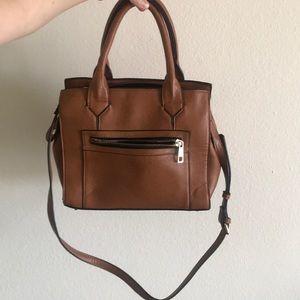 Forever 21 beige satchel purse.